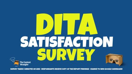 DITA Survey banner